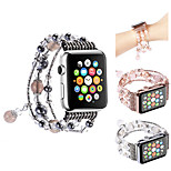 cheap -Watch Band for Apple Watch Series 3 / 2 / 1 Apple Jewelry Design Metal Wrist Strap