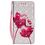 cheap -Case For Huawei P20 lite P20 Card Holder Wallet with Stand Flip Magnetic Full Body Cases Flower Hard PU Leather for Huawei P20 lite