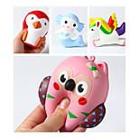Недорогие -LT.Squishies Резиновые игрушки / Устройства для снятия стресса Животный принт Товары для офиса / Стресс и тревога помощи /