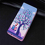 cheap -Case For Huawei P20 lite / P20 Card Holder / Wallet / with Stand Full Body Cases Tree / Owl Hard PU Leather for Huawei P20 lite / Huawei