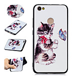 cheap -Case For Xiaomi Redmi Note 5A Redmi Note 4 Pattern Back Cover Cat Butterfly Soft TPU for Xiaomi Redmi Note 5A Xiaomi Redmi Note 4 Xiaomi