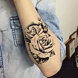 cheap -5pcs Sticker Flower Series Tattoo Stickers