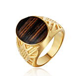 cheap -Statement Ring - Fashion, Disco 7 / 8 / 9 Gold / Silver For Daily / Club