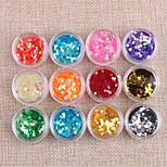 preiswerte -12 pcs Nagelschmuck / Nail Art Kits und Sets Gute Qualität Nagel-Kunst-Werkzeug / Nagel-Kunst-Design / Nagel-Kunst-Tipps Modisches Design