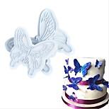 Недорогие -Инструменты для выпечки пластик Творчество / Своими руками Печенье / Cupcake / конфеты Формы для пирожных / Формы для нарезки печенья 2pcs