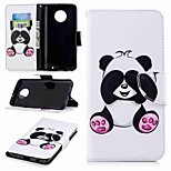 cheap -Case For Motorola Moto G6 Plus / MOTO G5 Wallet / Card Holder / with Stand Full Body Cases Panda Hard PU Leather for MOTO G6 / Moto G5s /