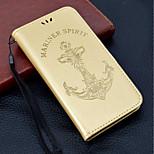 Недорогие -Кейс для Назначение Huawei P20 lite / P smart Кошелек / Бумажник для карт / со стендом Чехол Слова / выражения / Соблазнительная девушка