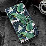 Недорогие -Кейс для Назначение Wiko WIKO Sunny 2 plus Кошелек / Бумажник для карт / со стендом Чехол дерево Твердый Кожа PU для Wiko View prime /