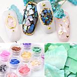Недорогие -12 pcs Отделка и украшения Природа / Винтажная коллекция Дизайн ногтей Ultra Slim На каждый день