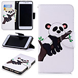cheap -Case For Xiaomi Redmi Note 5A / Redmi 4X Wallet / Card Holder / with Stand Full Body Cases Panda Hard PU Leather for Xiaomi Redmi Note 5A