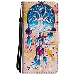 cheap -Case For Huawei P20 lite P20 Card Holder Wallet with Stand Flip Magnetic Full Body Cases Dream Catcher Hard PU Leather for Huawei P20