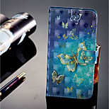 cheap -Case For Huawei P20 lite / P20 Pro Card Holder / Wallet / with Stand Full Body Cases Butterfly Hard PU Leather for Huawei P20 lite /