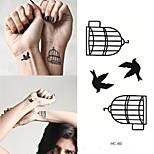 cheap -10pcs Sticker Animal Series Tattoo Stickers