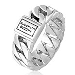 cheap -Band Ring - Fashion, Disco 7 / 8 / 9 Gold / Silver For Gift / Daily
