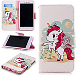 cheap -Case For Xiaomi Redmi Note 5A / Redmi 4X Wallet / Card Holder / with Stand Full Body Cases Unicorn Hard PU Leather for Xiaomi Redmi Note