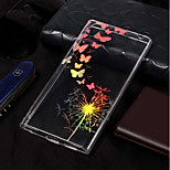 cheap -Case For Sony Xperia L2 / Xperia L1 Plating / Pattern Back Cover Butterfly / Dandelion Soft TPU for Xperia L2 / Sony Xperia L1