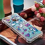 preiswerte -Hülle Für Huawei P10 Lite / P smart Stoßresistent / Mit Flüssigkeit befüllt / Muster Rückseite Einhorn Weich TPU für P10 Lite / P8 Lite