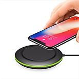 Недорогие -Беспроводное зарядное устройство Зарядное устройство USB Универсальный с кабелем / QC 3.0 / Беспроводное зарядное устройство 1 USB порт 2 A / 1 A DC 9V / DC 5V iPhone X / iPhone 8 Pluss / iPhone 8
