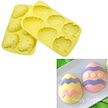cheap -Bakeware tools Silicone Creative / DIY For Cupcake / For Chocolate / Egg Cake Molds / Cookie Cutters 1pc