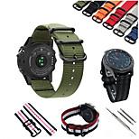 preiswerte -Uhrenarmband für Gear S3 Frontier / Gear S3 Classic Samsung Galaxy Sport Band Nylon Handschlaufe