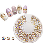 Недорогие -1 pcs Украшения для ногтей Дизайн ногтей Элегантный стиль Модный дизайн На каждый день