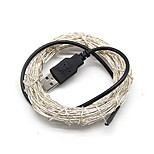 cheap -5m String Lights 50 LEDs Warm White / Cold White / RGB USB / Decorative USB Powered 1pc