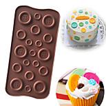 Недорогие -Инструменты для выпечки Силикон Своими руками Cupcake / конфеты / многообещающий Формы для пирожных / Формы для нарезки печенья / Десертные инструменты 1шт