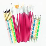 Недорогие -25 шт. маникюр Инструменты для ногтей / Пена для ногтей Профессиональный / Универсальная Модный дизайн / Разные цвета / обожаемый Свадьба / Вечерние / Повседневные