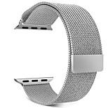 Недорогие -Ремешок для часов для Apple Watch Series 3 / 2 / 1 Apple Спортивный ремешок / Миланский ремешок Металл Повязка на запястье
