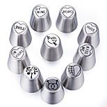 Недорогие -Инструменты для выпечки Нержавеющая сталь Новое поступление / 3D / Своими руками Повседневное использование / Необычные гаджеты для кухни Десертные инструменты 1шт