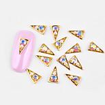 Недорогие -10 pcs Стиль / Инкрустация камнями и кристаллами Украшения для ногтей Модный дизайн Дизайн ногтей