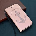Недорогие -Кейс для Назначение Sony Xperia XZ2 / Xperia L2 Кошелек / Бумажник для карт / Флип Чехол Слова / выражения Твердый Кожа PU для Xperia XZ2 / Sony Xperia XZ1 / Xperia XA2