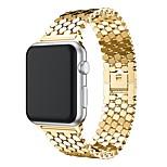 Недорогие -Ремешок для часов для Apple Watch Series 3 / 2 / 1 Apple Современная застежка Металл Повязка на запястье