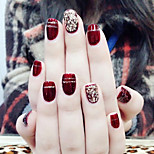 Недорогие -Полностью накладные ногти Емкости для нейл-арта и макияжа На каждый день / Тренировочные Инвентарь / Высокое качество Легко для того чтобы снести / Лучшее качество