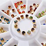 Недорогие -1 pcs Украшения для ногтей Bling Bling Модный дизайн / Цветной На каждый день Дизайн ногтей