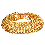 cheap -Men's Layered Bracelet - Fashion Bracelet Gold / Silver For Gift / Daily