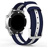 Недорогие -Ремешок для часов для Gear Sport Samsung Galaxy Современная застежка Нейлон Повязка на запястье