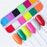 Недорогие -1 pcs Украшения для ногтей Декоративные Инструмент для ногтей / Советы для ногтей Модный дизайн На каждый день