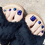 Недорогие -Полностью накладные ногти Емкости для нейл-арта и макияжа На каждый день / Тренировочные Высокое качество / Мода Легко для того чтобы снести / Pro