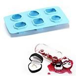 Недорогие -Инструменты для выпечки Силикон 3D / Своими руками Cupcake / Лед / Для мороженого Поднос / Формы для пирожных 1шт