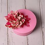 Недорогие -Инструменты для выпечки Силикон Праздник / 3D в мультяшном стиле / Милый Торты / Шоколад / Для приготовления пищи Посуда Круглый Формы для пирожных 1шт
