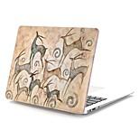 """Недорогие -MacBook Кейс Креатив пластик для Новый MacBook Pro 15"""" / Новый MacBook Pro 13"""" / MacBook Pro, 15 дюймов"""