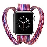 preiswerte -Uhrenarmband für Apple Watch Series 3 / 2 / 1 Apple Moderne Schnalle Echtes Leder Handschlaufe