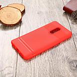 Недорогие -Кейс для Назначение Xiaomi Redmi 5 Ультратонкий Кейс на заднюю панель Однотонный Мягкий ТПУ для Xiaomi Redmi 5