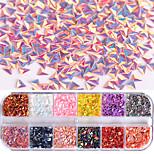 Недорогие -1 pcs Украшения для ногтей / Наборы и наборы для ногтей Декоративные Инструмент для ногтей / Советы для ногтей / Формы для ногтей Модный дизайн / Творчество На каждый день
