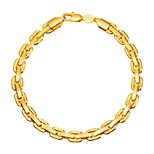cheap -Men's Single Strand Chain Bracelet - Fashion Bracelet Gold / Black / Silver For Gift / Daily