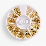 Недорогие -1 pcs Украшения для ногтей металлический / Панк Модный дизайн На каждый день Дизайн ногтей