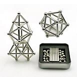 Недорогие -63 pcs Магнитные игрушки Магнитные шарики / Магнитные игрушки / Сильные магниты из редкоземельных металлов металлический / Магнитный
