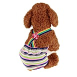 cheap -Pets Jumpsuit Dog Clothes Stripe / Princess Dark Green Padded Fabric Costume For Pets Male Sports & Outdoors / Dresses&Skirts