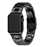 cheap -Watch Band for Apple Watch Series 3 / 2 / 1 Apple Modern Buckle Metal Wrist Strap